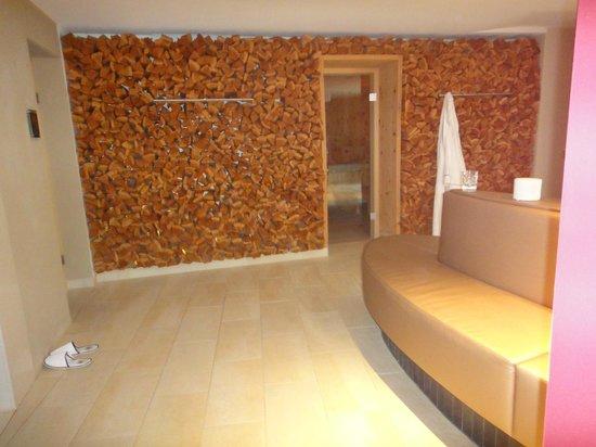 Giardino Mountain : sauna/steam room