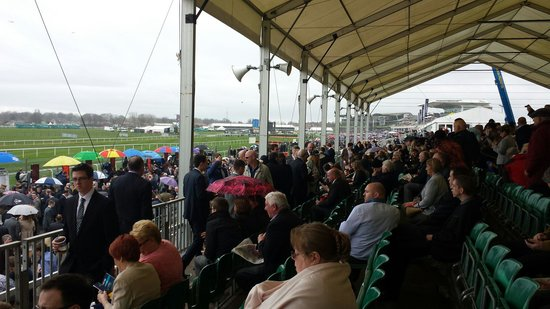 Aintree, UK: West tip stand
