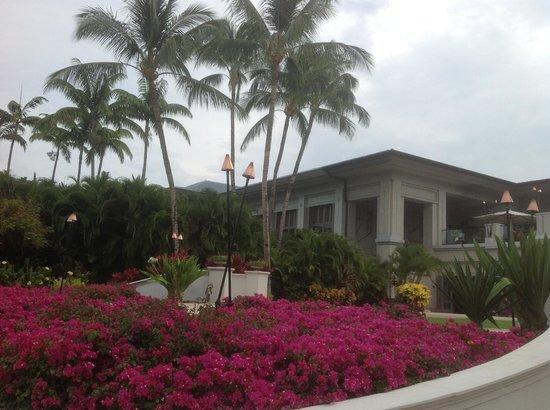 Fairmont Orchid, Hawaii: территория отеля