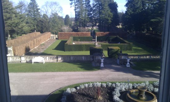 Doxford Hall Hotel: View from the bedroom window