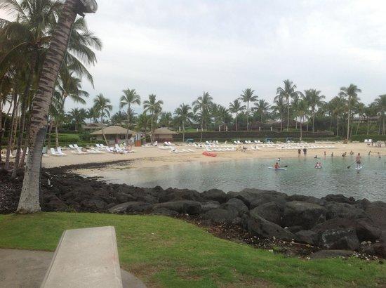 Fairmont Orchid, Hawaii: пляж