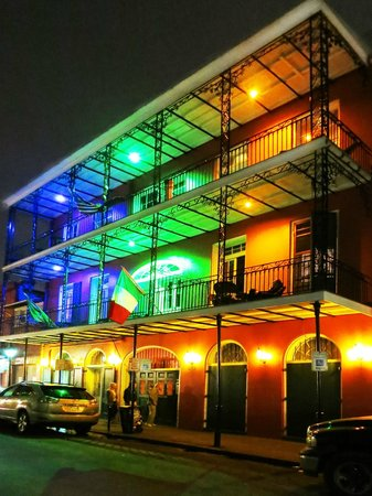 The Saint Philip Hotel: Let there be lights !