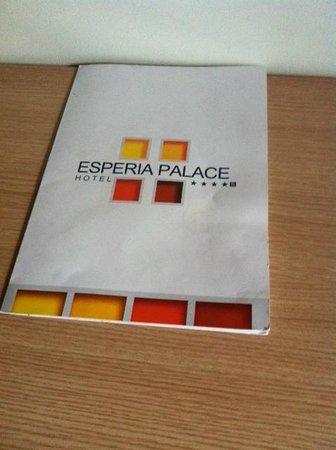 Hotel Esperia Palace: Brochure
