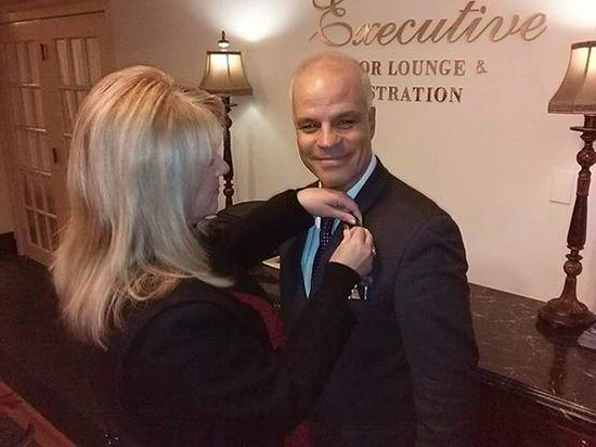 Hilton Chicago : Pinning Franco for his super graciousness to all!