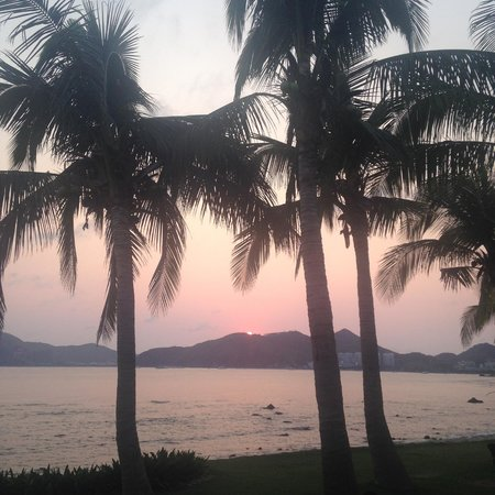 Mandarin Oriental, Sanya: sunset