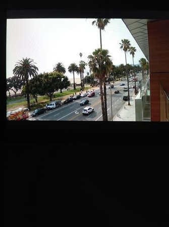 Shore Hotel: view form the balcony of the 433
