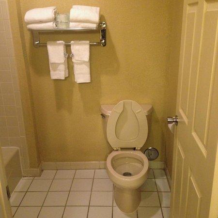 Comfort Inn: toilet
