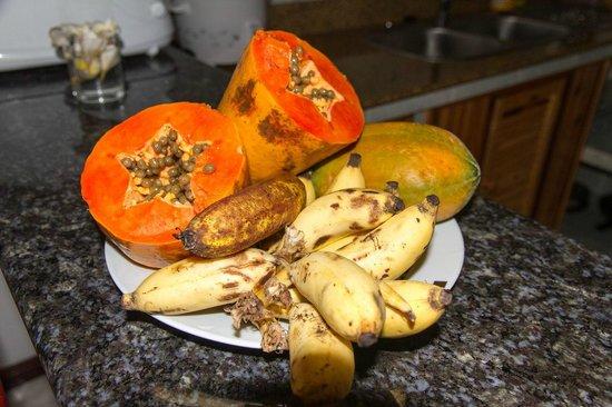 Chalets d'Anse Reunion : Complimentary fresh fruits