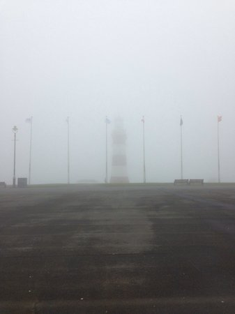 Smeaton's Tower : Saturday 5th April (evening fog)