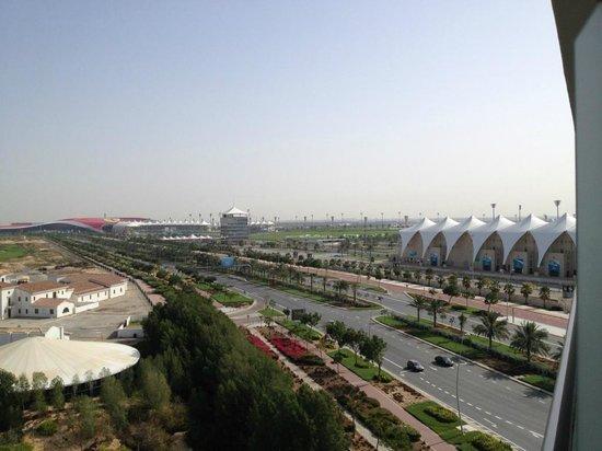 Park Inn by Radisson Abu Dhabi Yas Island: View