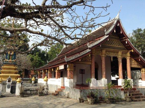 Wat Sensoukaram : Templo em Luang Prabang, Laos