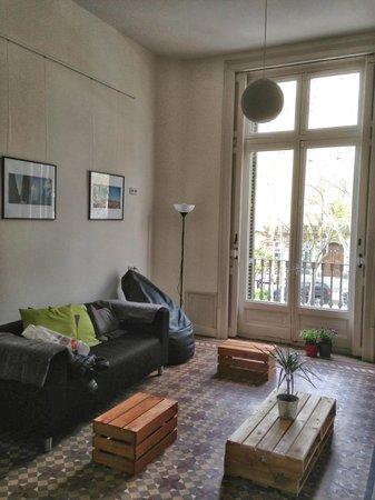 360 Hostel Barcelona Arts&Culture: sitting area