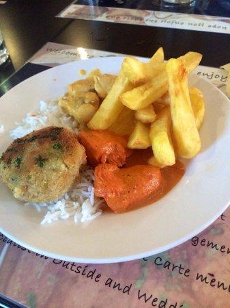 Zaiqa  buffet: Lots of choice on the buffet