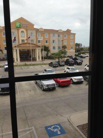Staybridge Suites Corpus Christi: other side of hotel no better