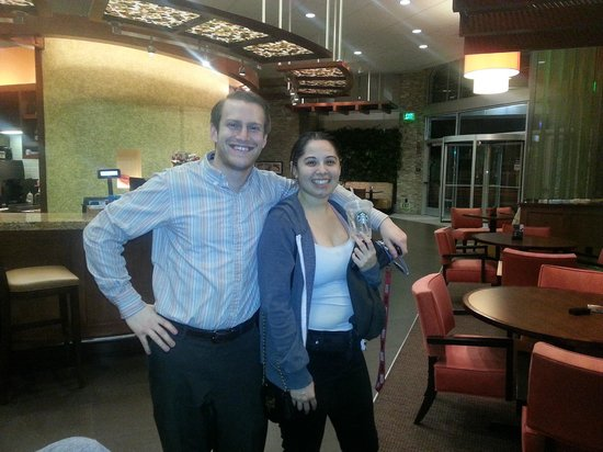 Hyatt Place Riverside Downtown : James and Cathy, Outstanding Staff Members