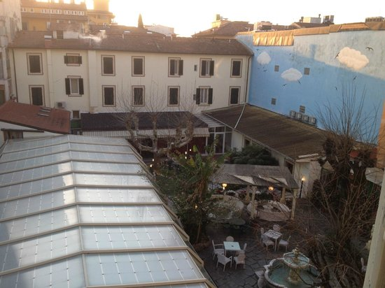 Hotel Manzoni : View from the room