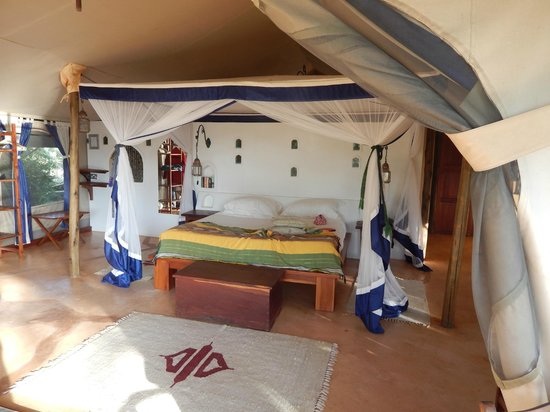 Joy's Camp: Our bed