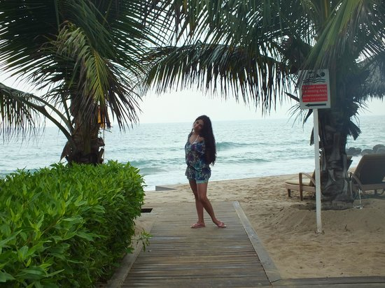 Le Meridien Al Aqah Beach Resort: morning