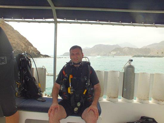 Le Meridien Al Aqah Beach Resort: my first diving experience