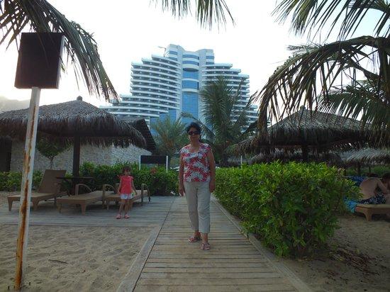 Le Meridien Al Aqah Beach Resort: :)
