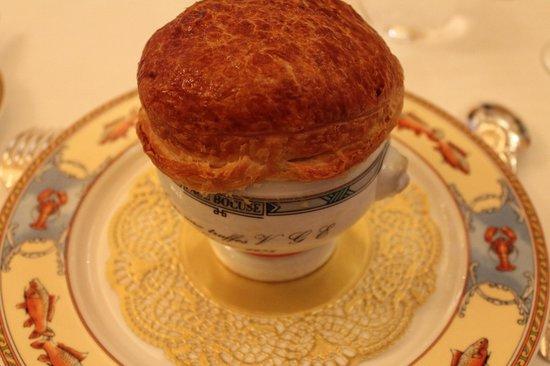 Restaurant Paul Bocuse : Soupe aux truffes VGE