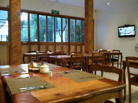 Hotel Loreto: Dining area