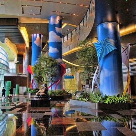 ARIA Resort & Casino: Lobby area of Aria