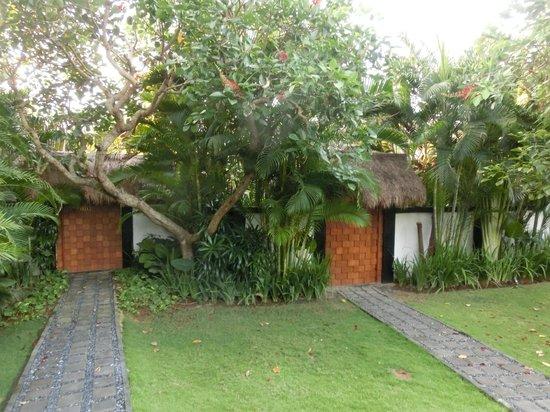 The Green Room Canggu: villa von aussen nicht einsehbar