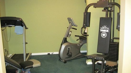 Kal Lake Hideaway Bed & Breakfast Vacation Resort: Fitness Room