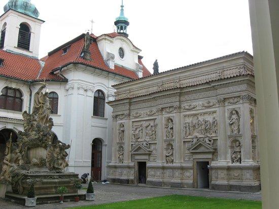 Hradschin (Burgstadt/Hradčany): Копия дома девы Марии в Назарете