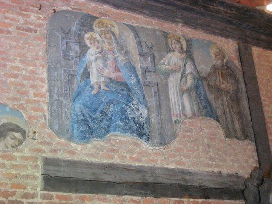 Hradschin (Burgstadt/Hradčany): Фреска в Santa casa (Лорета)
