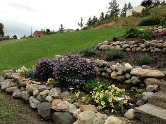 Kal Lake Hideaway Bed & Breakfast Vacation Resort: Rock garden beside the house
