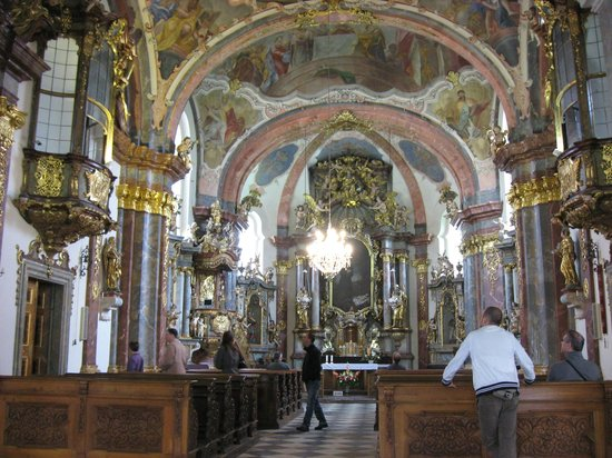 Hradschin (Burgstadt/Hradčany): Собор монастыря (Лорета)