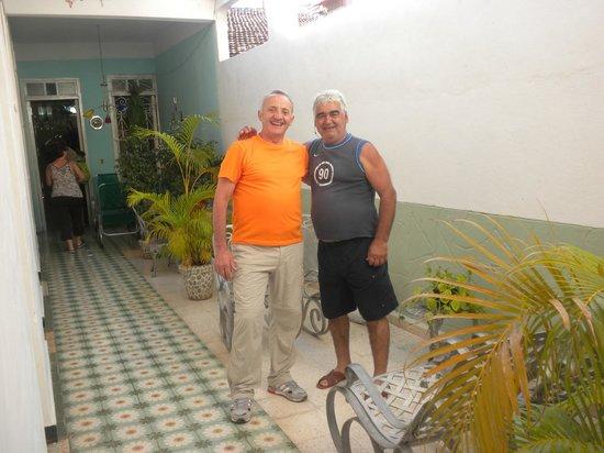 Casa Mario y Damaris : Claudio e Mario