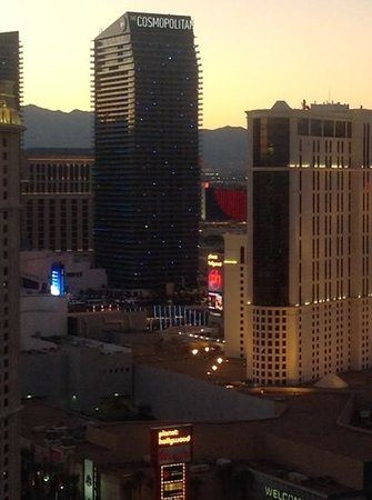 Signature at MGM Grand: view from our balcony