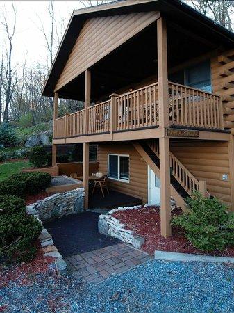 Trout House Village Resort : Cabin