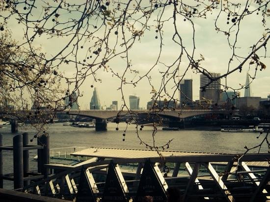 The Original London Sightseeing Tour : lovely views of the Thames
