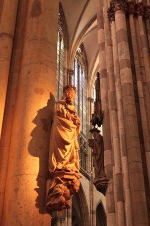 Kölner Dom: Catedral de Colônia (detalhe)