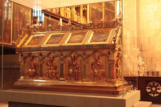 Kölner Dom: Catedral de Colônia (relicário)