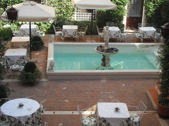 Giorgione Hotel : cour intérieure