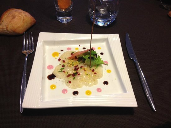 Restaurant des rochers : Menu autour de la Saint Jacques