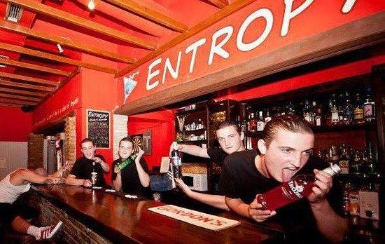 Entropy Bar: Fear the Barman