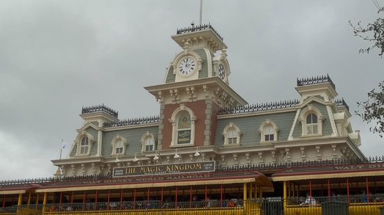 Magic Kingdom : Entrada do Parque