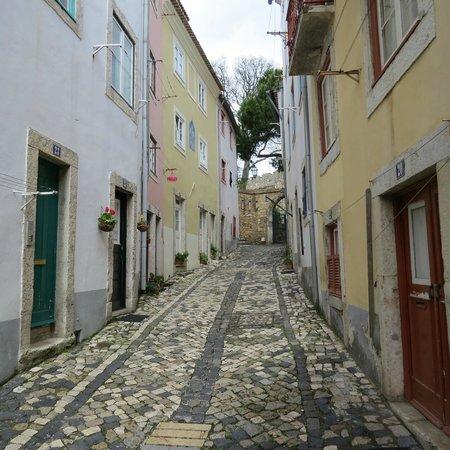 Solar Do Castelo: Rua do espirito santo (dans un corps sain après la grimpette..)