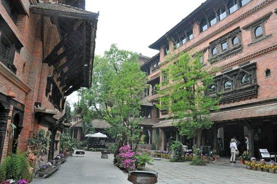 Dwarika's Hotel: View of the courtyard