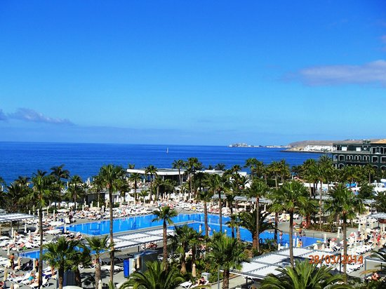 ClubHotel Riu Gran Canaria : View from Room 3042