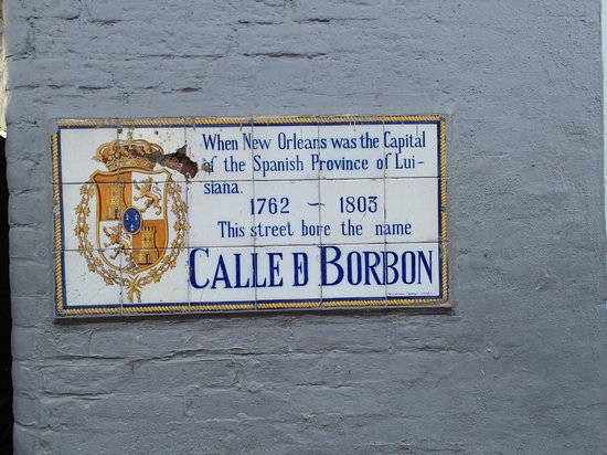 The nicest part of Bourbon Street… this sign...