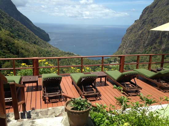 Ladera Resort: View from pool