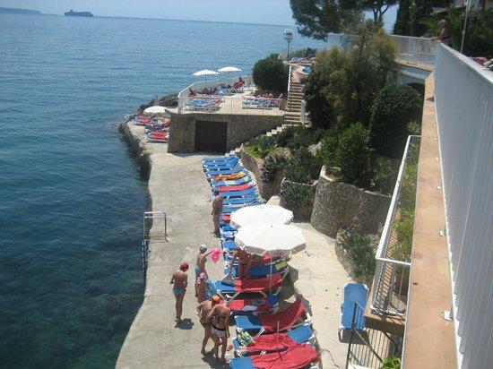 Отель Roc Illetas Playa