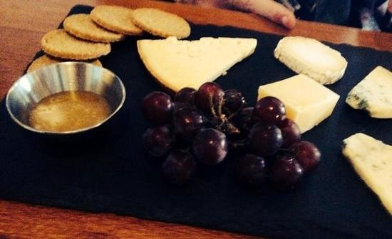 The Butchershop Bar and Grill : cheese board